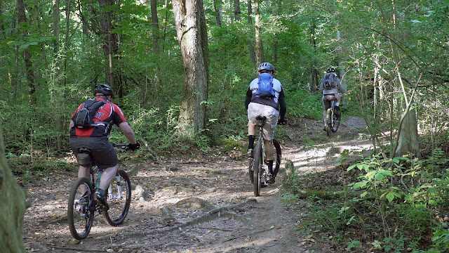 Backcountry Trail Riding in Michigan - Mountain Biking
