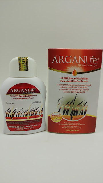 argan life shampoo