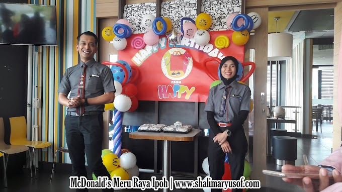 Singgah Di McDonald's Meru Raya Ipoh Perak Menikmati Burger GCB Bersama Team Blogger Pantai Timur