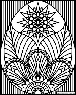 Egg coloring page to print and color- available in transparent PNG and JPG format.