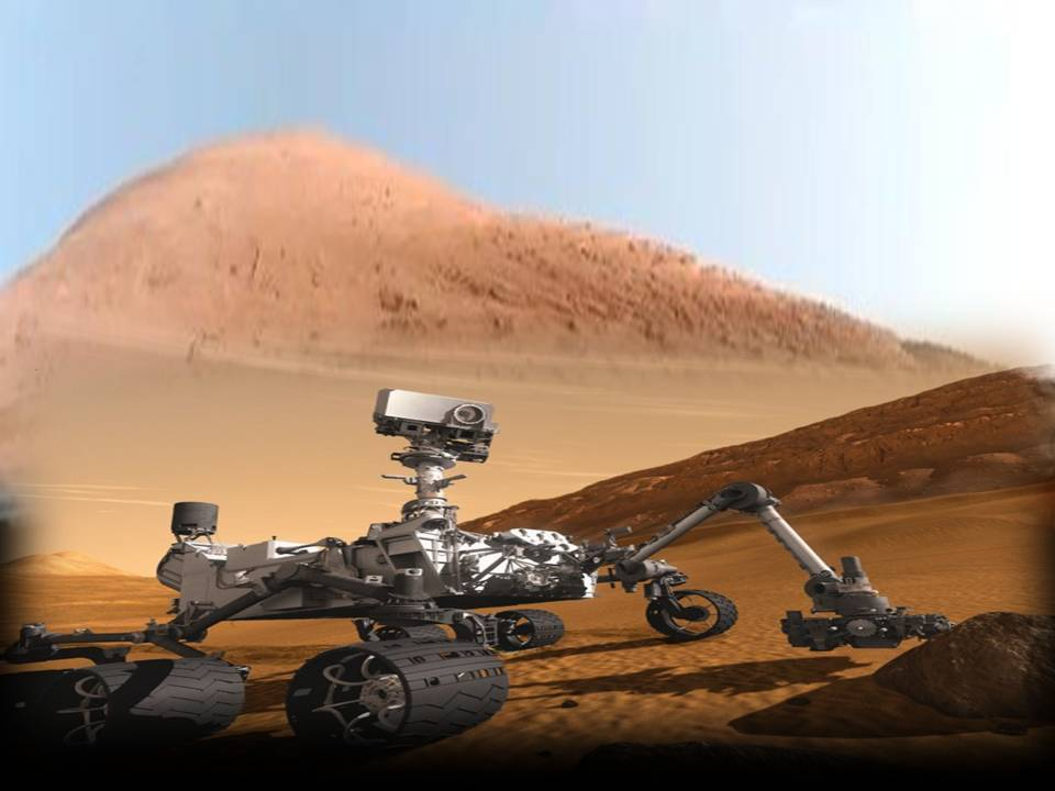 Mars Anomalies From Curiosity - Pics about space
