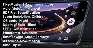 Mode Kamera Zenfone Zoom S