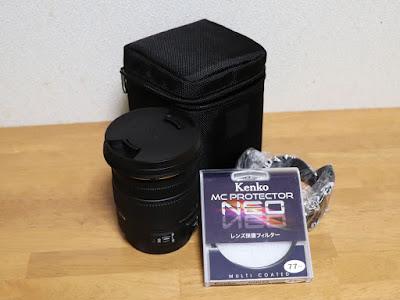 SIGMA 17-50mm F2.8 EX DC OS HSM + Kenko MCプロテクターNEO 77mm