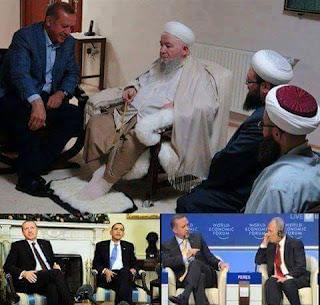 Erdoghan markuu la fadhiyo culimada iyo marka madaxda uu la joogo