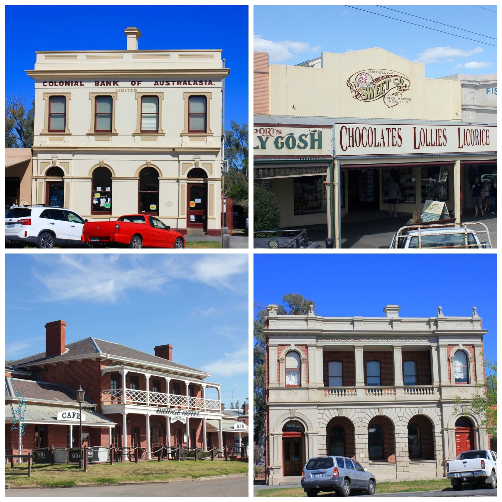 Green Gourmet Giraffe: Echuca holiday and sightseeing