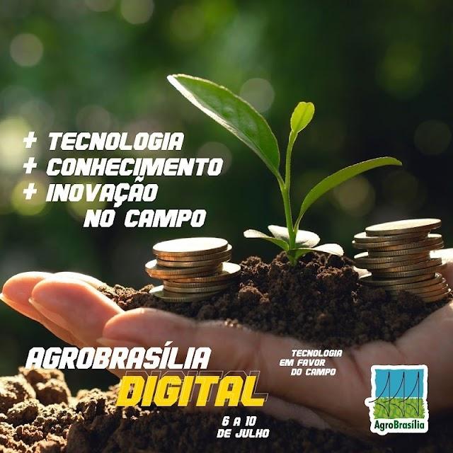 Crescimento do interesse de produtores em agricultura com tecnologia estão no radar da AgroBrasília Digital 2020