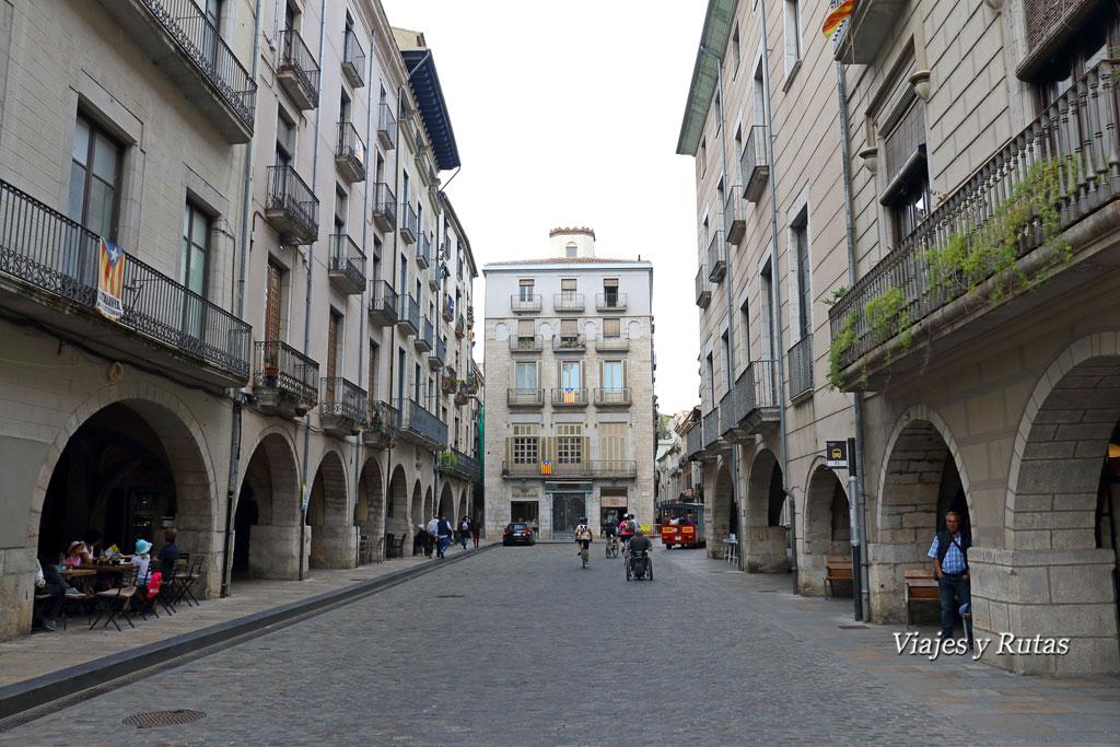 Plaza del Vi, Girona
