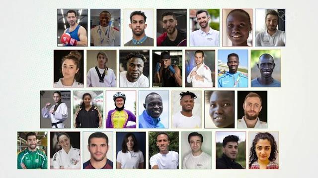 equipe olímpica de refugiado tóquio 2020