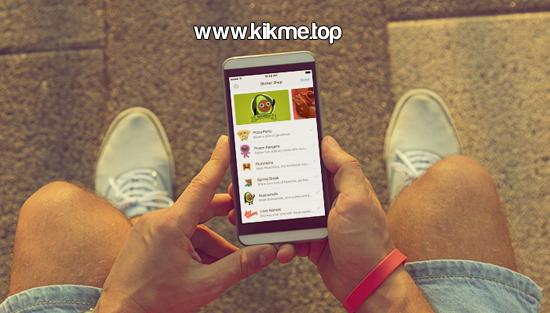 Nuevos stickers para Kik Messenger