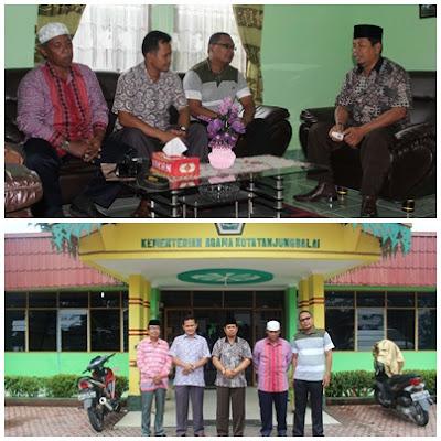 AUSAID Kunjungi Kantor Kementerian Agama Kota Tanjungbalai