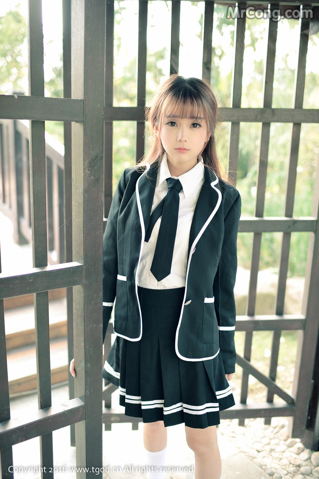 Image MrCong.com-TGOD-2016-02-03-Xiao-Jiu-Vin-002 in post TGOD 2016-02-03: Người mẫu Xiao Jiu Vin (小九Vin) (62 ảnh)