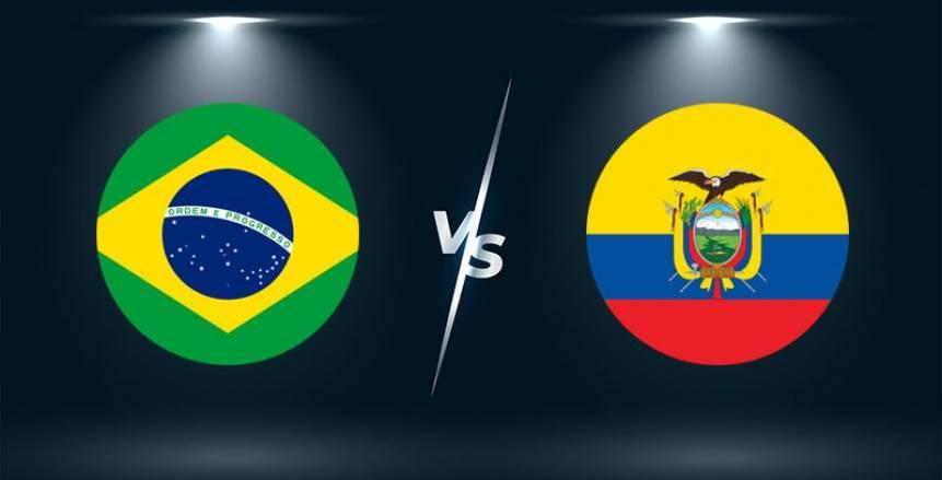 مشاهدة مباراة البرازيل والاكوادور اليوم