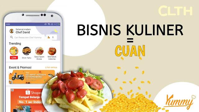 Tips Bisnis Kuliner Menguntungkan Yummy IDN Media