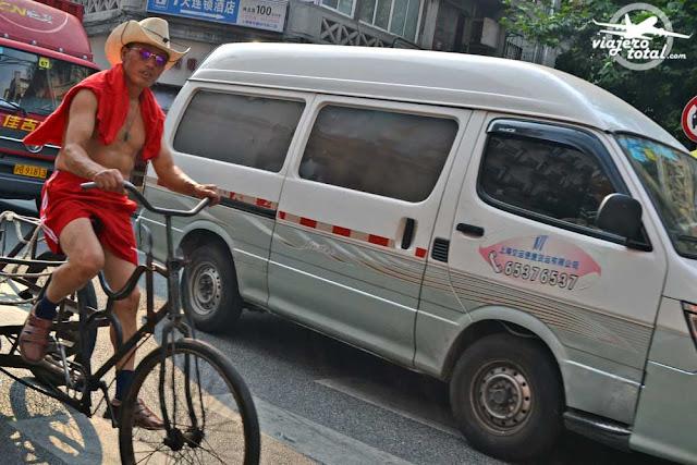 China - Shanghai - People - Cowboy