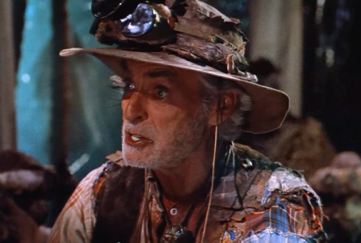 Rory Calhoun as Looney Tunes in Hell Comes to Frogtown, 1988