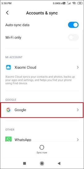 Mobile se email id kaise delete kare