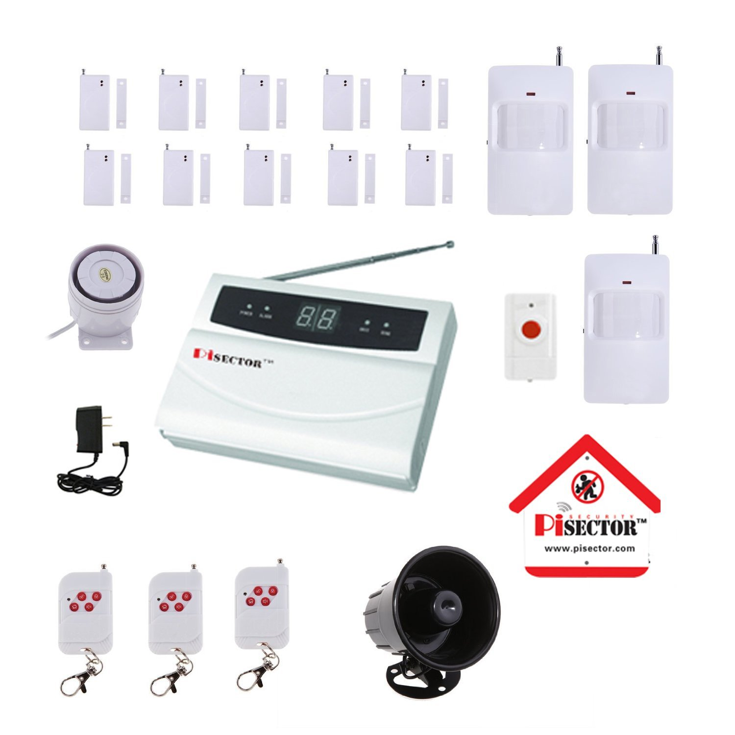 Diy Home Security Camera Reviews Wireless Home Security Systems Do It Yourself
