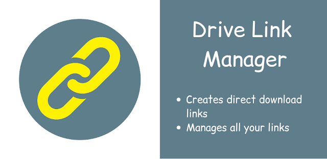 Drive Link Manager by Umer Softwares