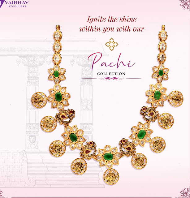 Pachi Necklaces by Vaibhav Jewellers