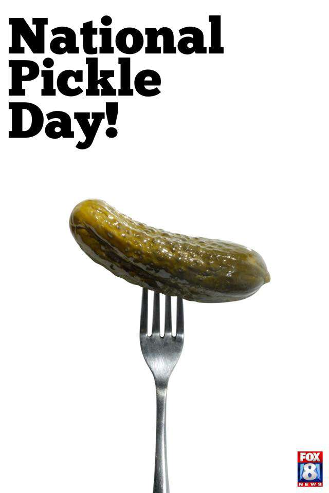 National Pickle Day Wishes For Facebook