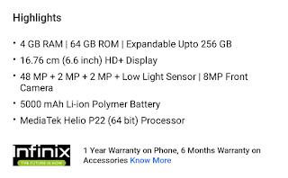 Infinix hot 9 और Infinix hot 9 Pro भारत में हुए लांच, कीमत सिर्फ 8499 से शुरू
