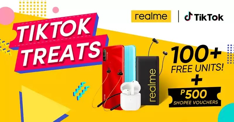 realme Philippines partners with TikTok