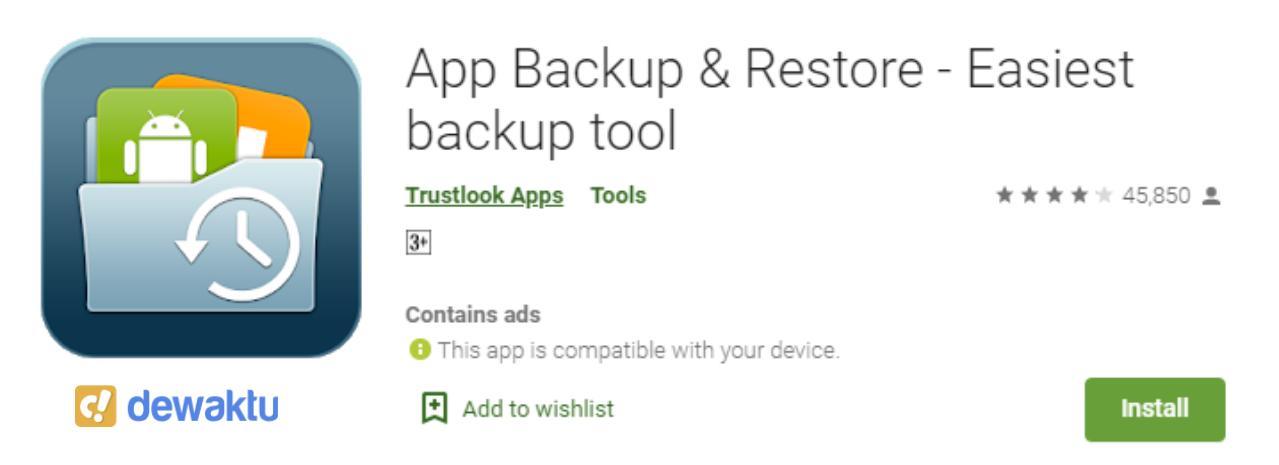 aplikasi buat backup data android