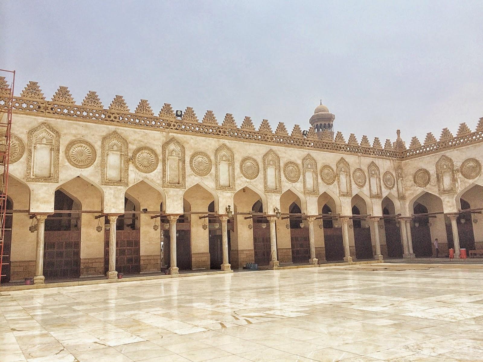 エジプトのムハンマド・アリ・モスク