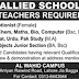 Allied School System Lahore Jobs