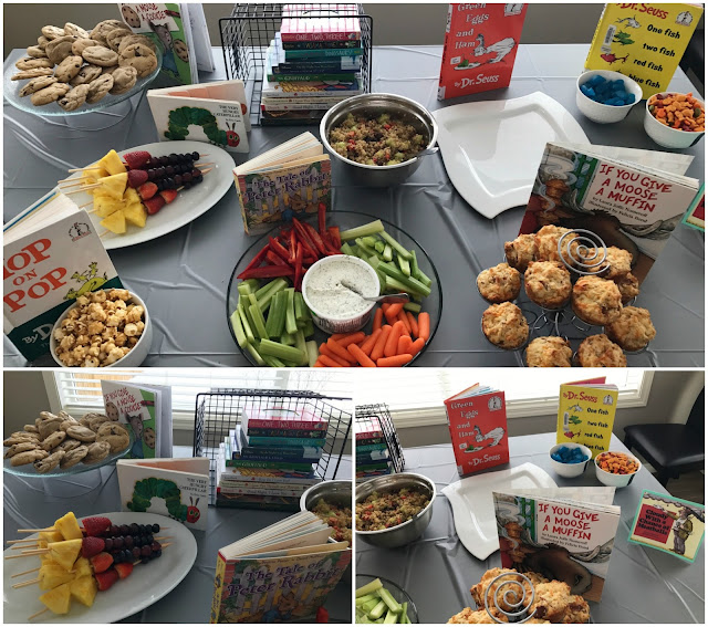 Children's Book Themed Baby Shower Food