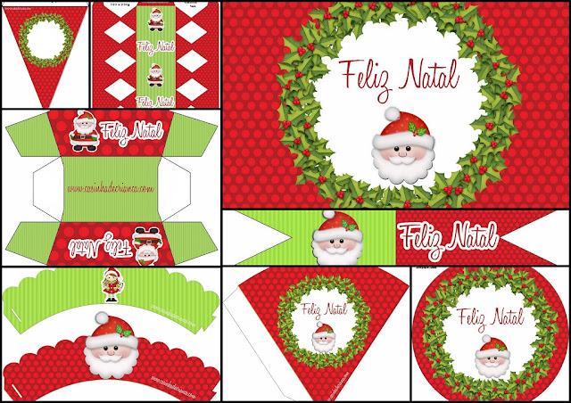 Lovely Christmas: Free Printable Kit.