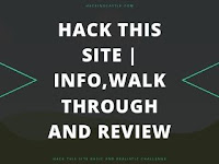 Hack This Site | Info,Walkthrough and Review