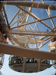 Cabina de la noria del London Eye