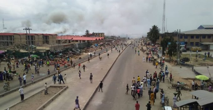 Hausa and Yoruba youths clash in Oke Odo - Lots of damage done