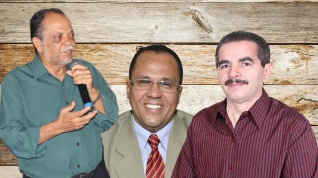 Gabirabas em festa, após confirmação do racha opositor com Juraci, Amaral e Gilson como candidatos
