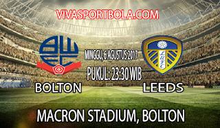 Prediksi Bolton Wenderers sv Leeds United 6 Agustus 2017
