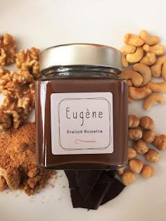 Pates à tartiner Eugène chocolatier praliné