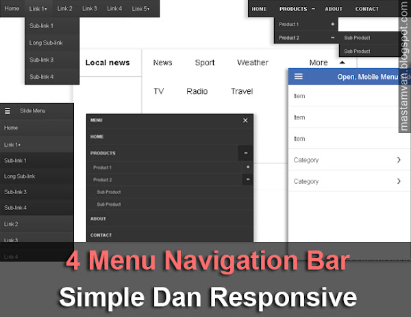 Menu_Bar_Drop_Down_Responsive_Tanpa_Edit_HTML