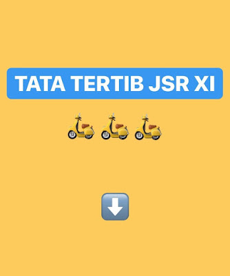 TATA TERTIB Java Scooter Rendezvous 11