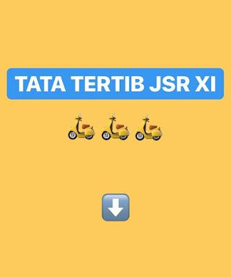 TATA TERTIB Java Scooter Rendezvous 11