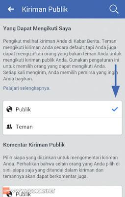 Cara Mengaktifkan Fitur Pengikut atau Follow di Facebook