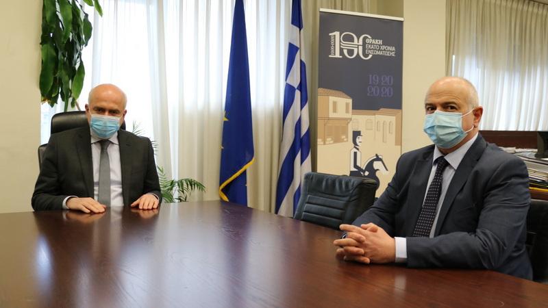 Ο Κίμων Παπαδόπουλος ορίστηκε ειδικός σύμβουλος της Περιφέρειας ΑΜ-Θ σε θέματα Περιβάλλοντος, Υποδομών και Μεταφορών