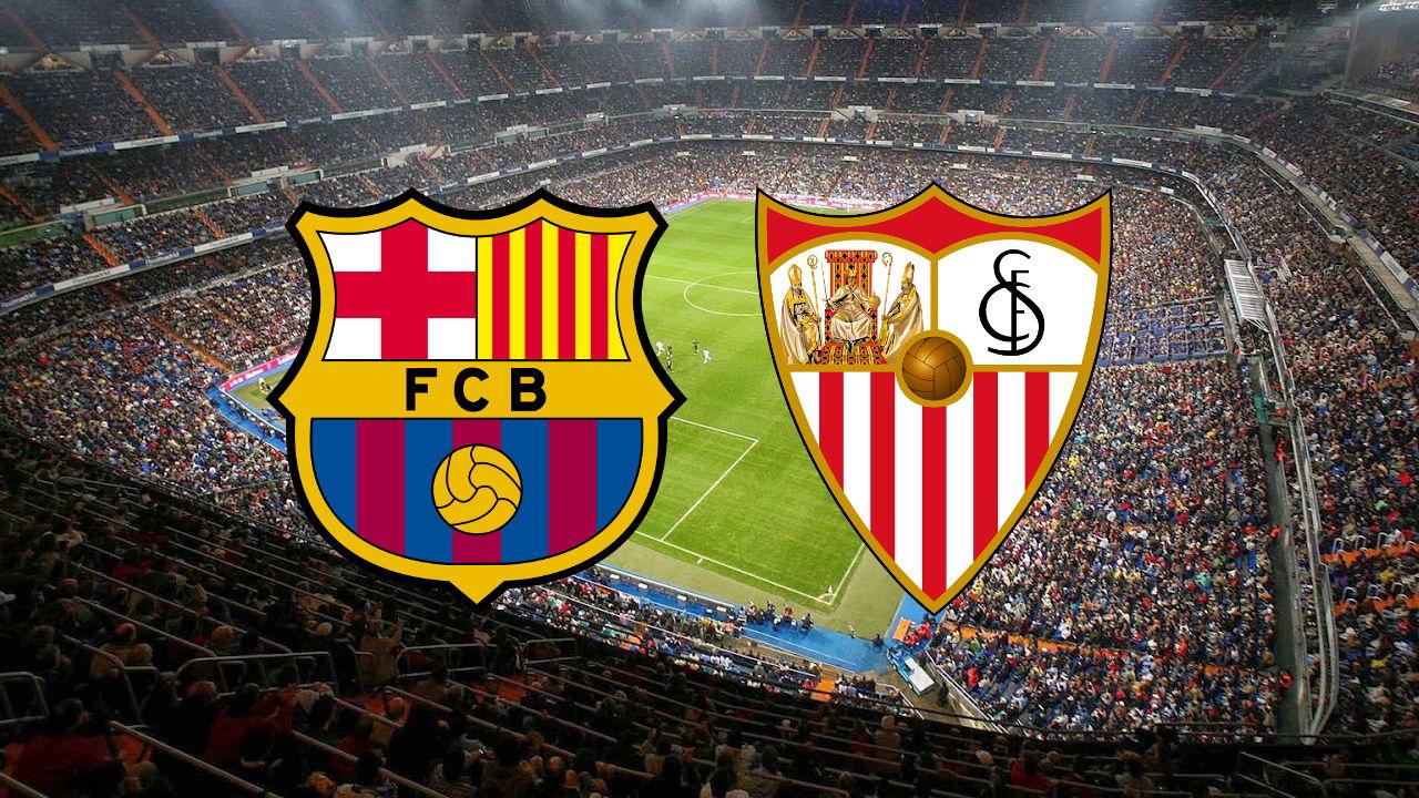 موعد مباراة اشبيلية ضد برشلونة القادمة والقنوات الناقلة في قمة الجولة 25 بالدوري الاسباني