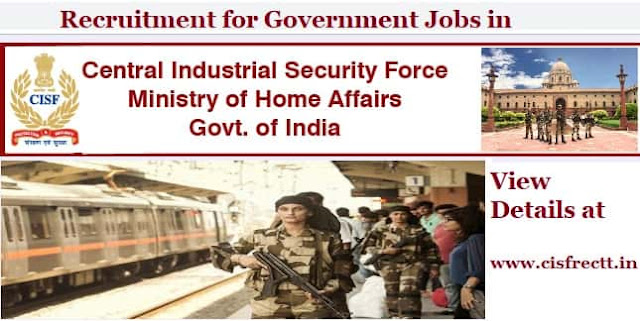 CISF Government Jobs