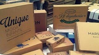 cajas de cartón a medida.