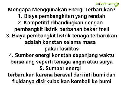 Ketahui Energi Terbarukan di Indonesia