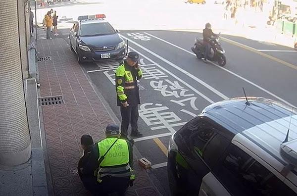 彰化微笑單車調度士過敏休克 彰警及時發現助送醫