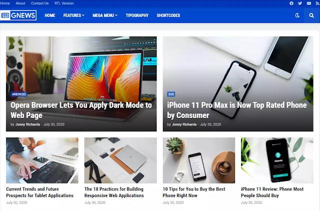 Gnews-premium-blogger-theme