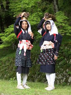 Oharame costume experience, Ohara, Sakyo-ku, Kyoto.