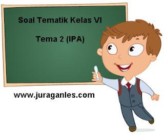 Contoh Soal Tematik Kelas 6 Tema 2 Mapel IPA T.A 2021/2022